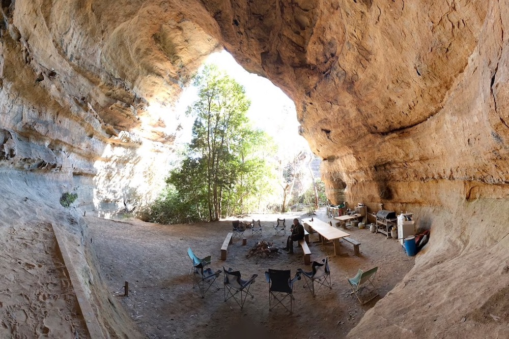 Unusual places to stay in Australia - Hatters Hideout Cave and Lodge