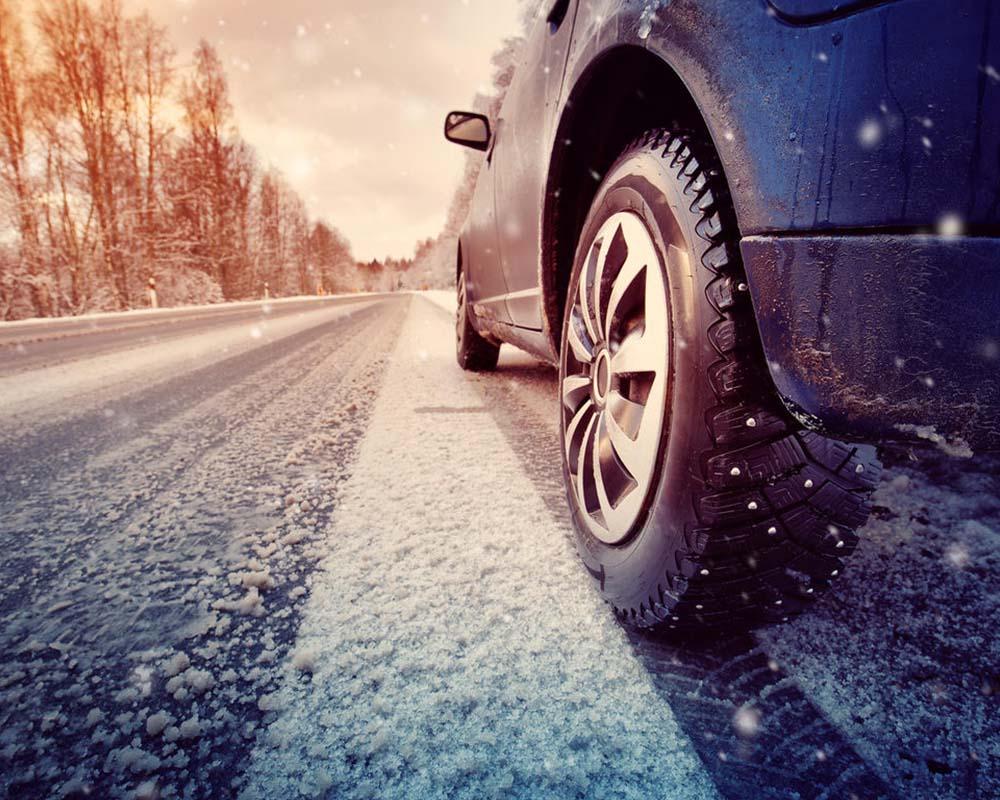 Winter Driving Snow